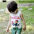 เสื้อกล้ามเด็ก-Chicken-Fighten-สีเทา-(5-ตัว/-pack)