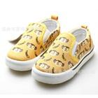 รองเท้าผ้าใบลิงและกล้วย-สีเหลือง-(6-คู่/แพ็ค)
