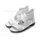 รองเท้าส้นเตี้ยไขว้หน้า-สีขาว-(6-คู่/แพ็ค)
