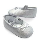 รองเท้าเด็ก-Princess-baby-สีเงิน