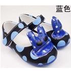 รองเท้าเด็กลายจุด-สีน้ำเงิน-(5-คู่/แพ็ค)