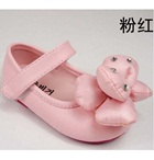 รองเท้าเด็กดอกไม้ใหญ่-สีชมพูอ่อน-(5-คู่/แพ็ค)
