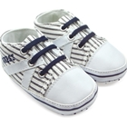 รองเท้าผ้าใบเด็ก-Guess-ลายทางสีน้ำเงิน
