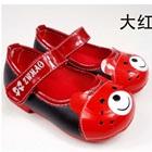 รองเท้าเด็กหมีน้อย-สีแดง-(5-คู่/แพ็ค)
