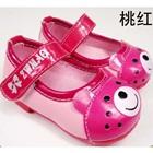 รองเท้าเด็กหมีน้อย-สีชมพู-(5-คู่/แพ็ค)