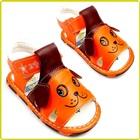 รองเท้าแตะเด็กหมาน้อย-สีส้ม-(5-คู่/แพ็ค)