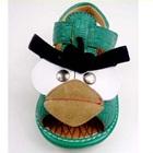 รองเท้าแตะสาน-Angry-Bird-สีเขียว-(5-คู่/แพ็ค)