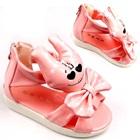 รองเท้าแตะการ์ตูนยิ้มได้-สีชมพู-(5-คู่/แพ็ค)