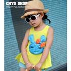 เสื้อยืดแขนกุดกระต่ายน้อย-สีเหลือง-(5size/pack)