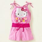 จั๊มสูทสายเดี่ยว-Hello-Kitty-สีชมพู-(6-ตัว/pack)