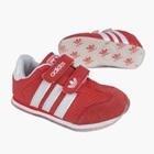 รองเท้าผ้าใบ-Adidas-สีแดง-(7-คู่/แพ็ค)