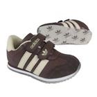 รองเท้าผ้าใบ-Adidas-สีน้ำตาล-(7-คู่/แพ็ค)