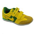 รองเท้าผ้าใบ-Nike-สีเหลือง-(7-คู่/แพ็ค)