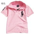 เสื้อโปโลแขนสั้น-Polo-สีชมพู-(5-ตัว/pack)