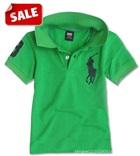 เสื้อโปโลแขนสั้น-Polo-สีเขียว-(5-ตัว/pack)