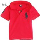 เสื้อโปโลแขนสั้น-Polo-สีแดง-(5-ตัว/pack)