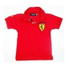 เสื้อโปโลแขนสั้น-Ferrari-สีแดง-(5-ตัว/pack)