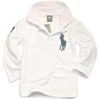 เสื้อโปโลแขนยาว-สีขาว-(5-ตัว/pack)