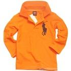 เสื้อโปโลแขนยาว-สีส้ม-(5-ตัว/pack)