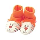 รองเท้าเด็ก-เสือน้อยน่ารัก-สีส้ม