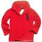เสื้อโปโลแขนยาว-สีแดง-(5-ตัว/pack)