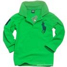 เสื้อโปโลแขนยาว-สีเขียว-(5-ตัว/pack)