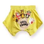 กางเกงขาสั้นลิงยิ้มพร้อมเพื่อนสีเหลือง(5-ตัว/pack)