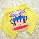 กางเกงขาสั้น-Clap-Clap-สีเหลือง-(5-ตัว/pack)