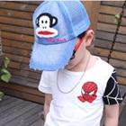 หมวกแก้ปลิงยิ้มแย้ม-ตาข่ายสีฟ้า-(5-ใบ/แพ็ค)