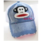หมวกแก้ปลิงยิ้มแย้ม-ตาข่ายสีขาว-(5-ใบ/แพ็ค)