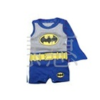 จั๊มสูทแขนกุด-Batman-สีเทาน้ำเงิน-(6-size/pack)