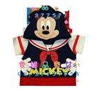 เสื้อแขนสั้น-Mickey-Mouse-สีขาวดำ-(5size/pack)