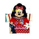 เสื้อแขนสั้นMinnie-Mouse-สีขาวแดง--(5size/pack)