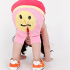 กางเกงขายาว-Smiling-Face-สีชมพู-(5-ตัว/pack)