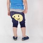กางเกงขายาว-Smiling-Face-สีน้ำเงิน-(5-ตัว/pack)