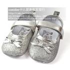 รองเท้าเจ้าหญิง-สีเทา-(6-คู่/แพ็ค