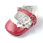 รองเท้าเด็ก-สีแดงเงิน-(6-คู่/แพ็ค)