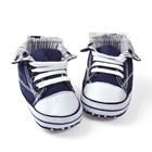 รองเท้าผ้าใบเด็ก-สีน้ำเงิน-(6-คู่/แพ็ค)