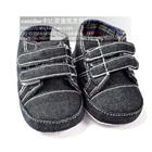 รองเท้าผ้าใบเด็ก-สีเทาเข้ม-(4-คู่/แพ็ค)