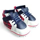 รองเท้าผ้าใบเด็กลายตาราง-Guess-สีแดง-(6-คู่/แพ็ค)
