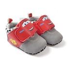 รองเท้าผ้าใบรถแข่ง-สีเทาอ่อน-(6-คู่/แพ็ค)