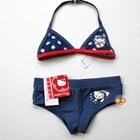 บิกินนี่กางเกง-Hello-Kitty-สีน้ำเงิน-(4-ตัว/pack)