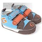 รองเท้าผ้าใบเด็ก-Guess-สีฟ้าน้ำตาล-(6-คู่/แพ็ค)
