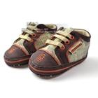 รองเท้าผ้าใบเด็ก-Guess-สีน้ำตาล(6-คู่/แพ็ค)