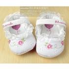รองเท้าเด็ก-Princess-สีขาว(6-คู่/แพ็ค)