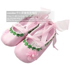 รองเท้าเด็กเจ้าหญิงแสนหวาน-สีชมพู-(6-คู่/แพ็ค)