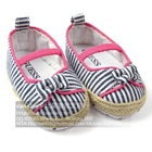 รองเท้าเด็กลายทาง-Guess-สีน้ำเงิน-(6-คู่/แพ็ค)