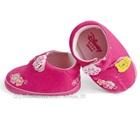 รองเท้าเด็กหมีพูลล์-สีชมพู-(6-คู่/แพ็ค)