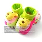 รองเท้าเด็กหมาน้อย--สีชมพู-(4-คู่/แพ็ค)