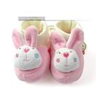 รองเท้าเด็กกระต่ายน้อย-สีชมพู-(4-คู่/แพ็ค)